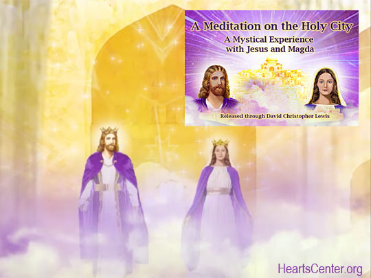 Jesus' Discourse on the Holy City Meditation DVD