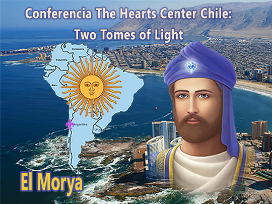 El Morya Praises Heartfriends in Chile on the Release of the Aura book in Spanish (VIDEO)