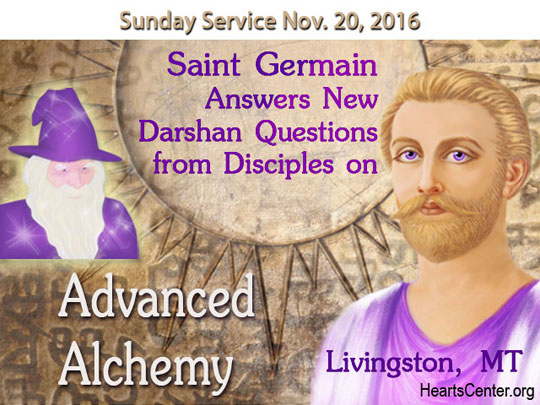 Saint Germain Answers New Darshan Questions from Disciples on Advanced Alchemy—Part 2