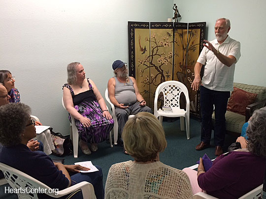 David Shares Highlights from a Bookstore Talk and a Meditation in San Diego