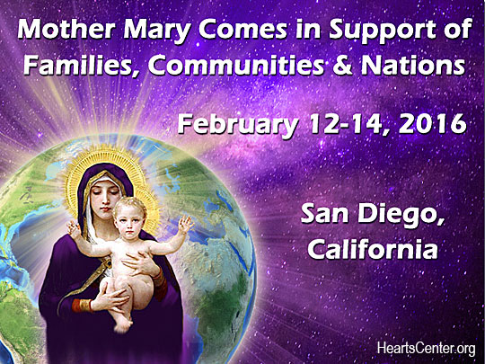 Mother Mary Previews the Activities and Blessings of Our Upcoming Valentine's Day Event
