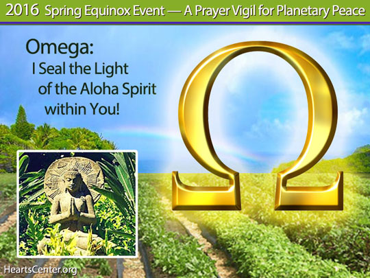 Omega: I Seal the Light of the Aloha Spirit within You! (VIDEO)