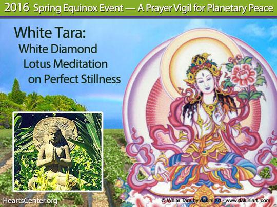 White Tara: White Diamond Lotus Meditation on Perfect Stillness