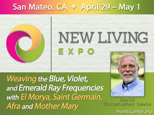 David Shares about the New Living Expo in San Mateo, CA