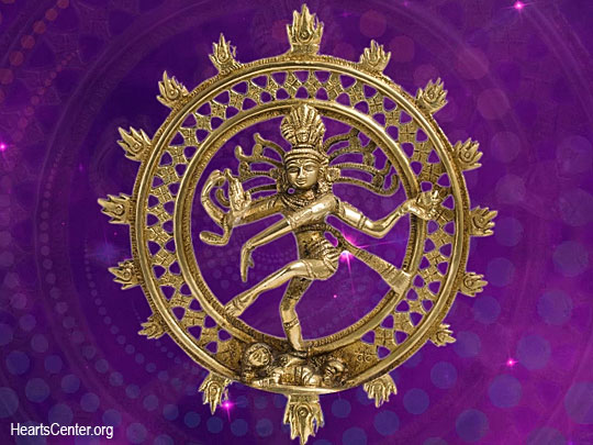 Shiva Enfolds Us in Fiery Flames of Spiritual Light (VIDEO)