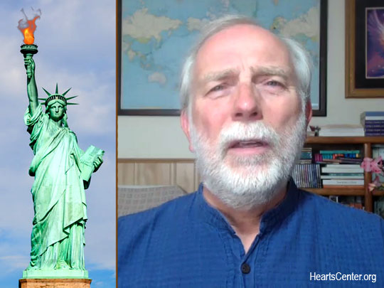 The Goddess of Liberty Speaks on the Importance of Gratitude Today (VIDEO)