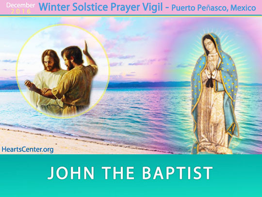 John the Baptist: Spiritual Water as the Living Essence of God as Mother Washes You Clean (VIDEO)