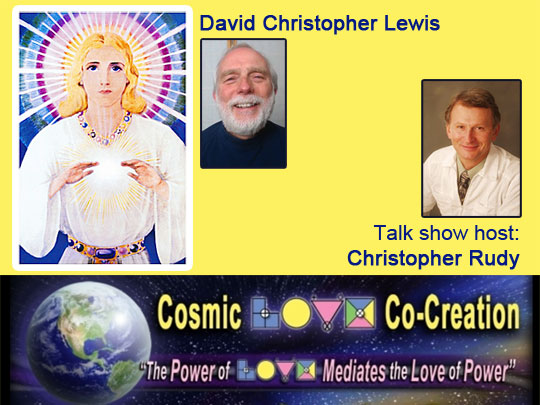 Divine Director Darshan on Cosmic Love Radio with David Christopher Lewis and Christopher Rudy (VIDEO)