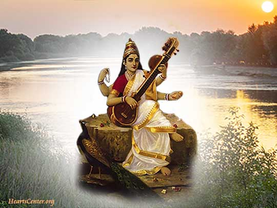 Sarasvati Uses Her Mantra to Purify Nations, Continents and our Earth (VIDEO)