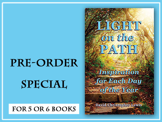 "David Releases ""Light on the Path,"" a Daily Meditations Book Published by The Hearts Center (VIDEO)"
