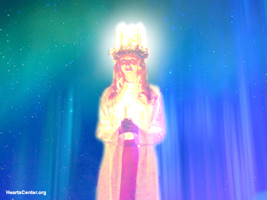 Queen of Light Comes with the Princess of Light to Bless and Heal Us (VIDEO)