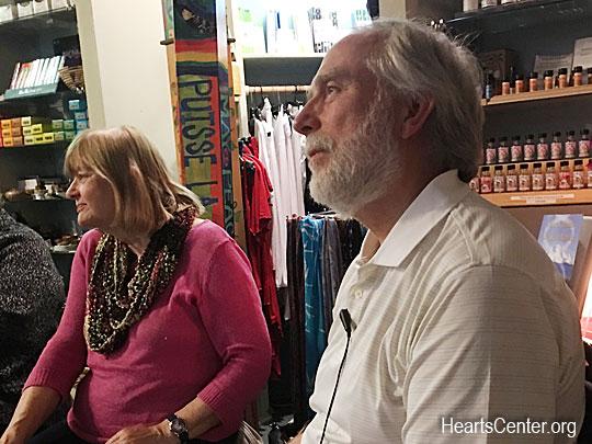 Lecture at Paradise Found Bookstore, Santa Barbara, CA