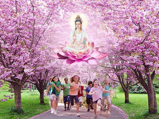 Kuan Yin Speaks on the Merciful Heart of the Child