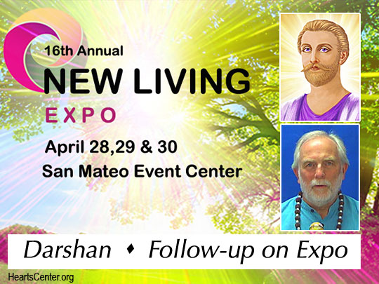 Darshan with Saint Germain for San Mateo Expo Participants (VIDEO)