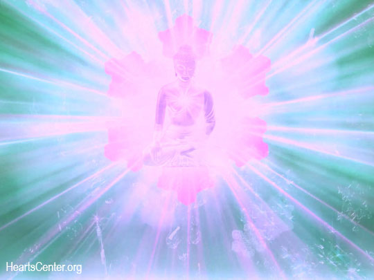 The Buddha of the Diamond Crystal Light Expands His Radiance to the Healing Light Retreat (VIDEO)