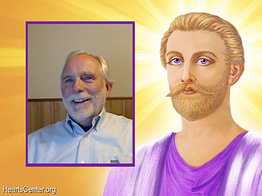 Saint Germain on the Violet Laser Light, Liquid-Crystal Beingness and the Ascension (VIDEO)