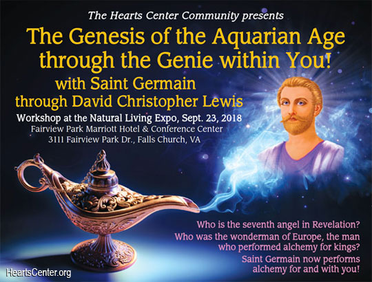Saint Germain: The Genesis of the Aquarian Age through the Genie within You! (VIDEO)