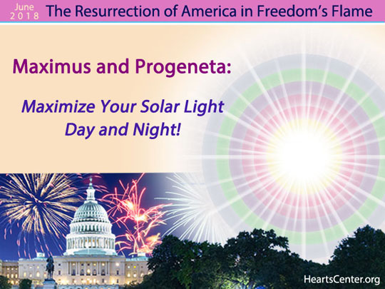 Maximus and Progeneta: Maximize Your Solar Light Day and Night! (VIDEO)