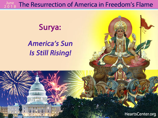 Surya: America's Sun Is Still Rising! (VIDEO)
