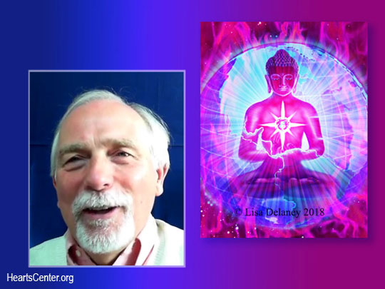 David Re-reads the Two HeartStreams of the Buddha of the Ruby Ray from November, 2004 (VIDEO)