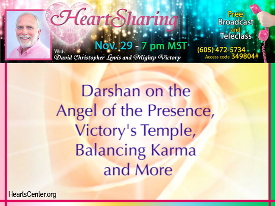 Darshan on the Angel of the Presence, Victory's Temple, Balancing Karma and More (VIDEO)