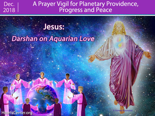 Jesus: Darshan on Aquarian Love (VIDEO)