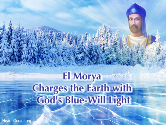 El Morya Charges the Earth with God's Blue-Will Light (VIDEO)