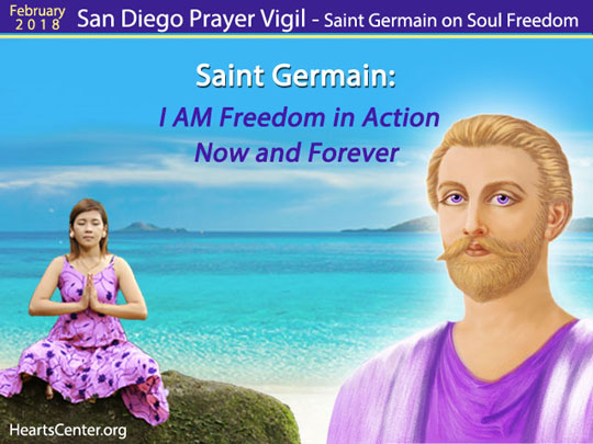 Saint Germain: I AM Freedom in Action Now and Forever (VIDEO)