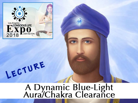 A Dynamic Blue-Light Aura/Chakra Clearance (VIDEO)