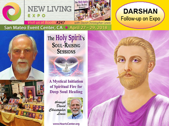 Saint Germain Darshans with Heartfriends from 2018 San Mateo Expo (VIDEO)