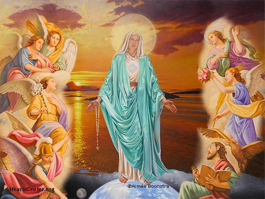 Mother Mary on the Work of the Angels (VIDEO)