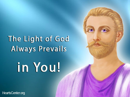 Saint Germain: The Light of God Always Prevails in You! (VIDEO)
