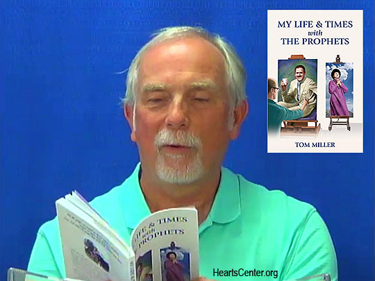 David Shares Tom Miller's Book My Life & Times with The Prophets (VIDEO)