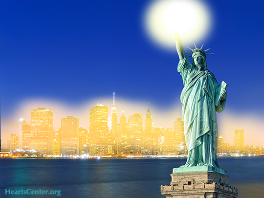 The Goddess of Liberty on Immigration and the G's and L's of God-Gratitude (VIDEO)