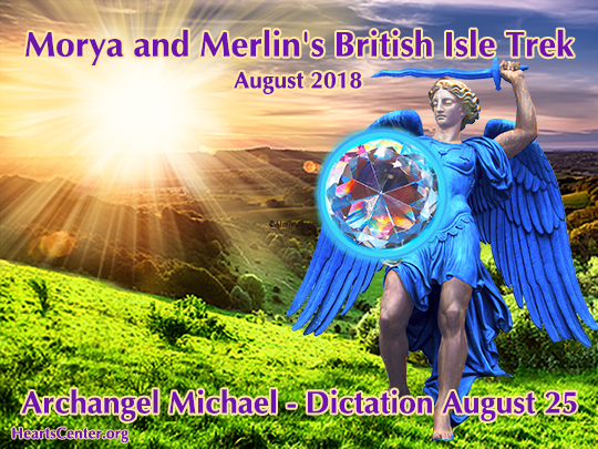 Archangel Michael Blazes the Blue Fire Light of God into England (VIDEO)