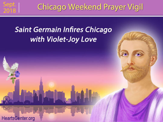 Saint Germain Infires Chicago with Violet-Joy Love (VIDEO)