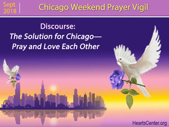 The Solution for Chicago—Pray and Love Each Other (VIDEO)
