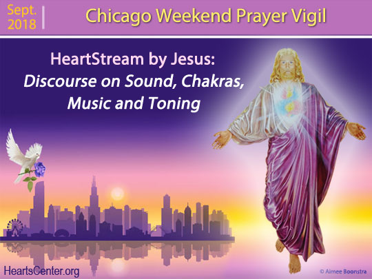 Jesus' Discourse on Sound, Chakras, Music and Toning (VIDEO)