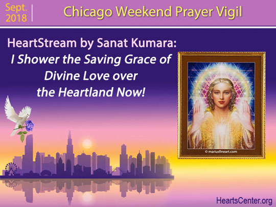 Sanat Kumara: I Shower the Saving Grace of Divine Love over the Heartland Now! (VIDEO)
