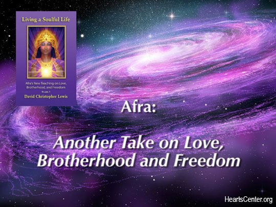 Afra: Another Take on Love, Brotherhood and Freedom (VIDEO)