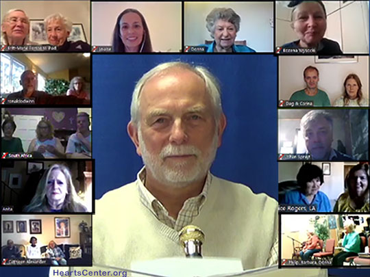Beloved El Morya Darshan with English-Speaking Heartfriends Groups during Sunday Forum (VIDEO)