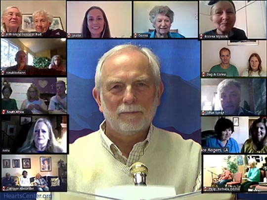 Sharing with English-Speaking Heartfriends Groups during El Morya Sunday Forum (VIDEO)
