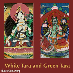 Aspects of the Divine Mother: White Tara and Green Tara (VIDEO)