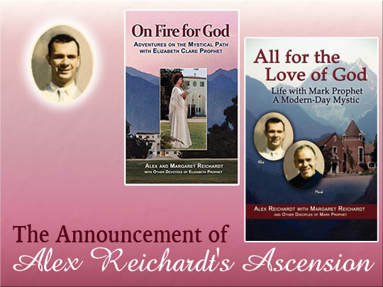 David Announces the Ascension of Alexander Reichardt (VIDEO)