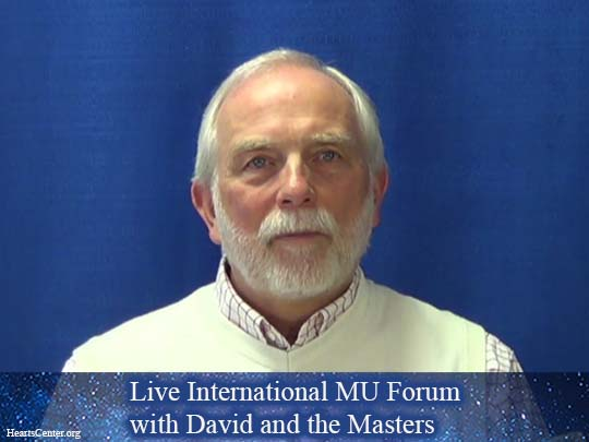 El Morya - Live International MU Forum with David and the Masters (VIDEO)