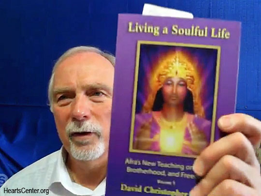 Reading from Afra's Book Living a Soulful Life (VIDEO)