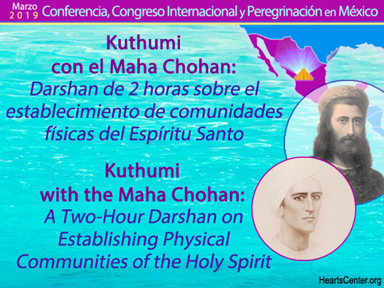 Kuthumi with the Maha Chohan: A Darshan on Establishing Physical Communities of the Holy Spirit (VIDEO)