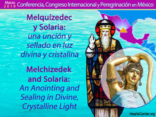 Melchizedek and Solaria: An Anointing and Sealing in Divine, Crystalline Light (VIDEO)