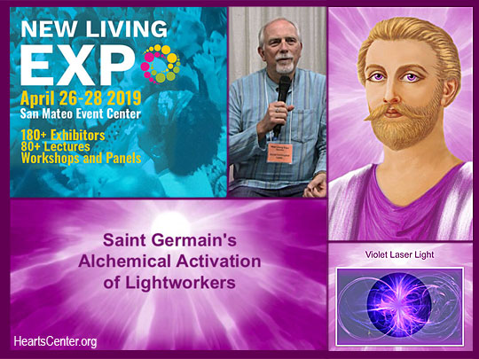 Saint Germain's Alchemical Activation of Lightworkers - 2019 San Mateo Expo (VIDEO)