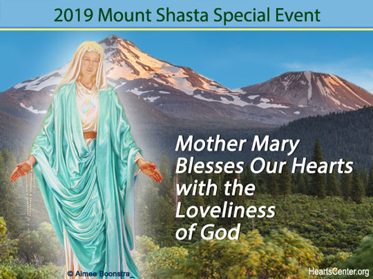 Mother Mary Blesses Our Hearts with the Loveliness of God (VIDEO)